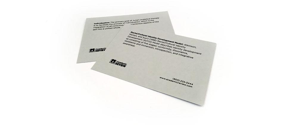 Sample Exam Prep Flashcards