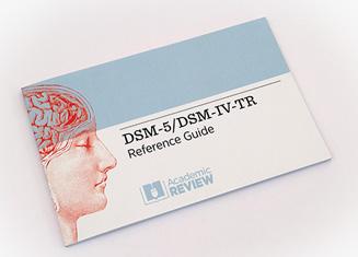 DSM-5 Reference Cards
